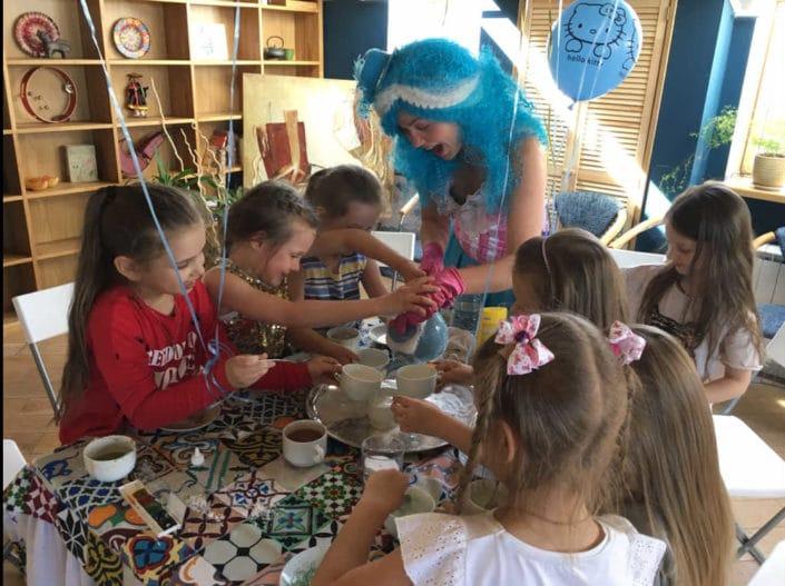 Детский праздник в Орле в Кафе 3 Этаж