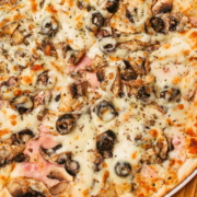 Пицца Ветчина Грибы Кафе 3 Этаж