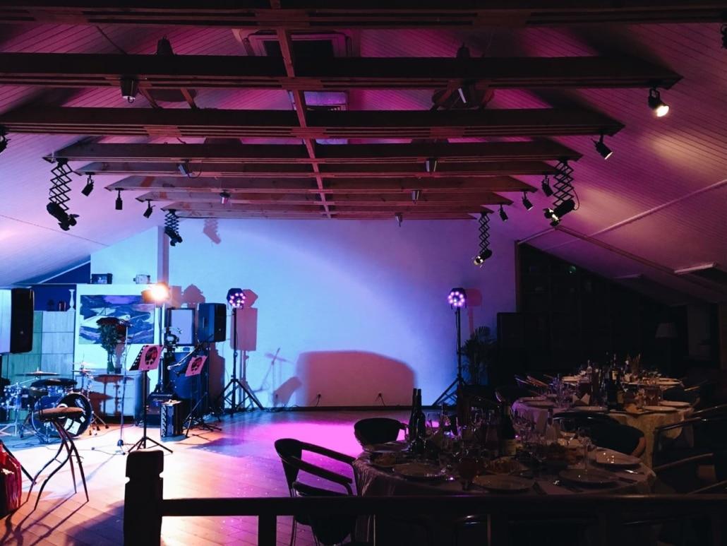 Живая музыка в банкетном зале ресторана Лабиринт в Орле