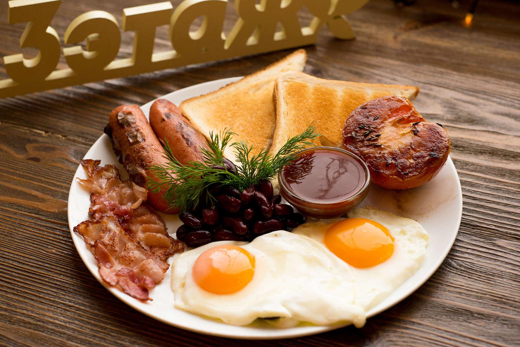 Завтраки в Орле с 8-00 в кафе 3 ЭТАЖ